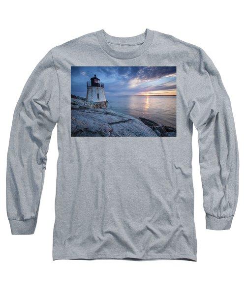 Castle Hill Light Sunset Long Sleeve T-Shirt