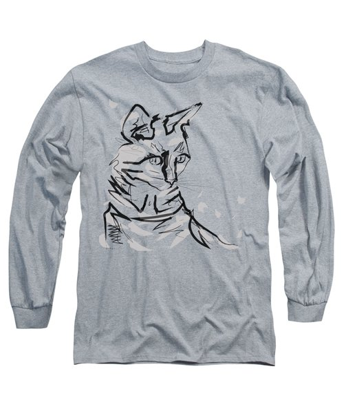 Cat Lisa In Lines Long Sleeve T-Shirt