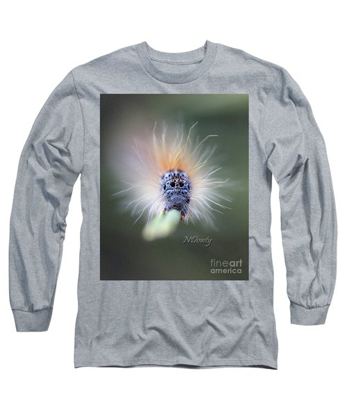 Caterpillar Face Long Sleeve T-Shirt