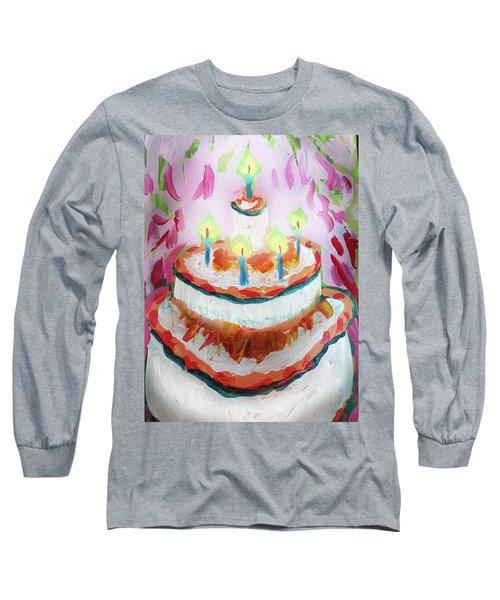 Celebration Cake Long Sleeve T-Shirt