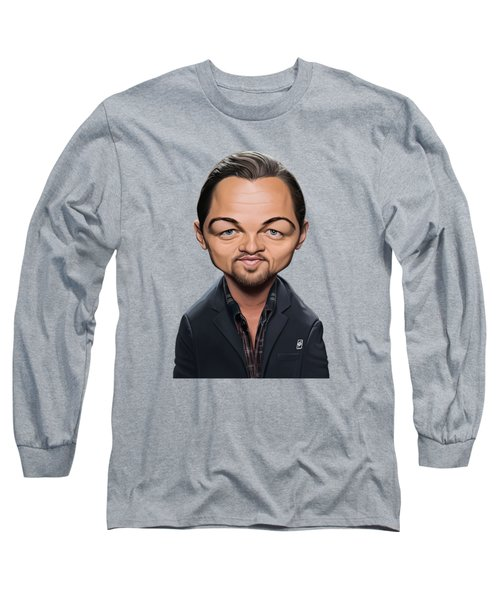 Celebrity Sunday - Leonardo Dicaprio Long Sleeve T-Shirt