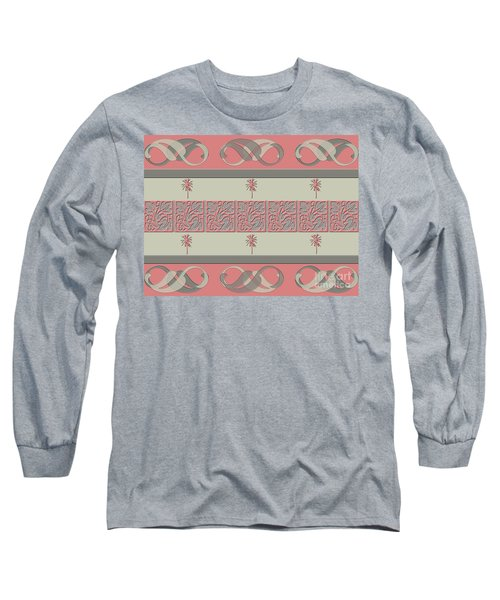 Long Sleeve T-Shirt featuring the photograph Cheery Coral Pink by Rockin Docks Deluxephotos