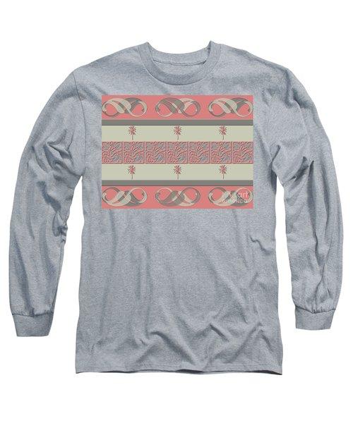 Cheery Coral Pink Long Sleeve T-Shirt