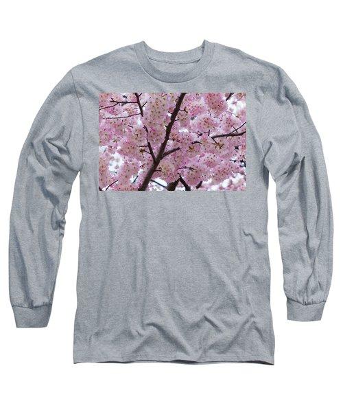 Cherry Blossoms 8611 Long Sleeve T-Shirt
