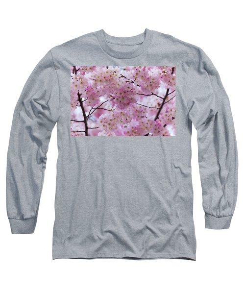 Cherry Blossoms 8625 Long Sleeve T-Shirt