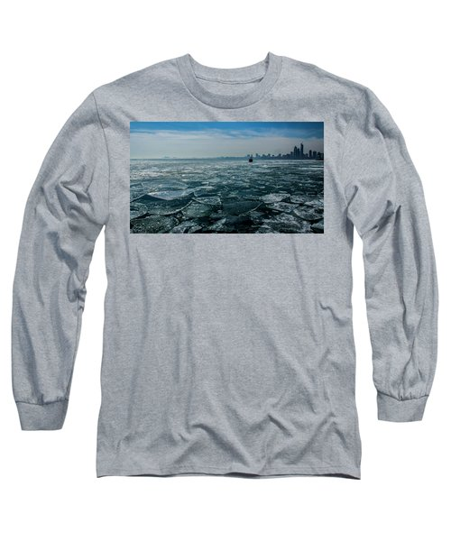 Chicago In Winter Long Sleeve T-Shirt