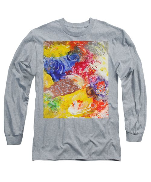 Child Laughter Long Sleeve T-Shirt