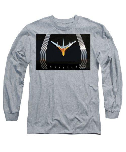 Classic Pontiac Hood Ornament Long Sleeve T-Shirt