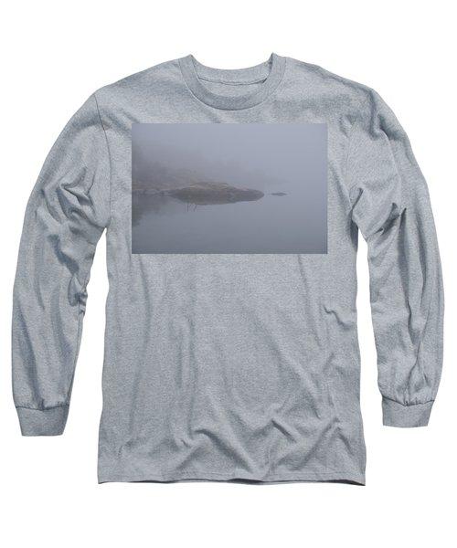 Cliffs In Fog Long Sleeve T-Shirt
