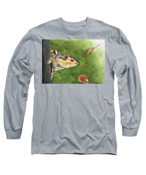 Clinging On To Fall Long Sleeve T-Shirt