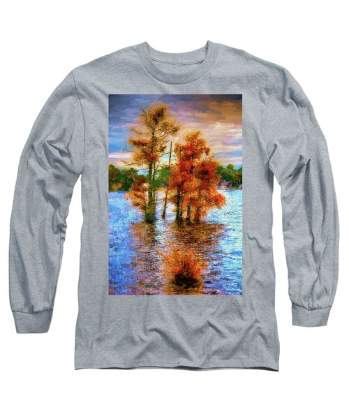 Coastal Autumn In North Carolina Ap Long Sleeve T-Shirt