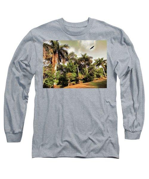 Coconut Trees Long Sleeve T-Shirt