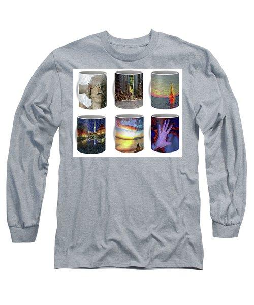 Coffee Mugs Samples Long Sleeve T-Shirt