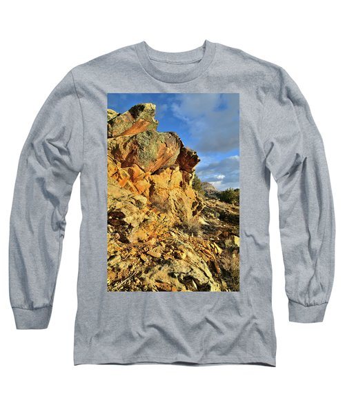 Colorful Crags In Colorado National Monument Long Sleeve T-Shirt