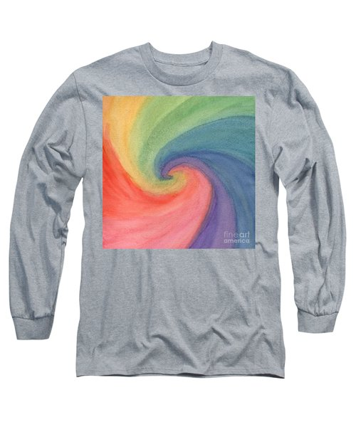 Colorful Wave Long Sleeve T-Shirt