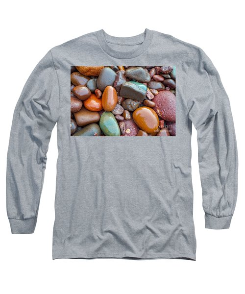 Colorful Wet Stones Long Sleeve T-Shirt