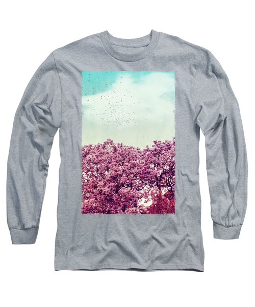 Colours Of Spring Long Sleeve T-Shirt