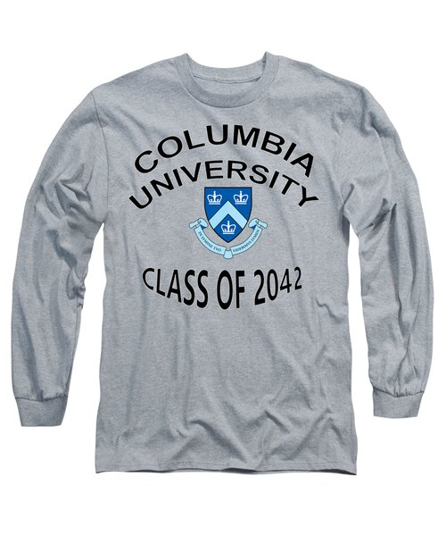 Columbia University Class Of 2042 Long Sleeve T-Shirt