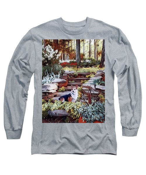 Corgi At Highgarden Long Sleeve T-Shirt