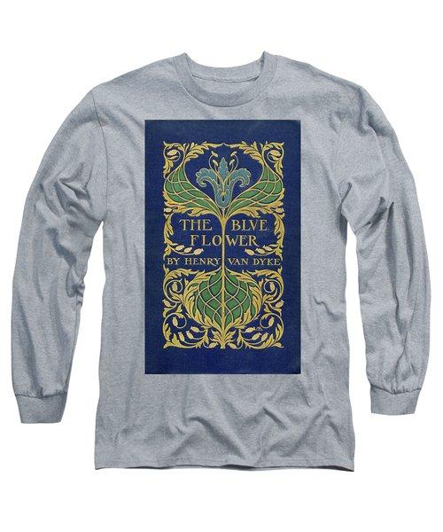 Cover Design For The Blue Flower Long Sleeve T-Shirt