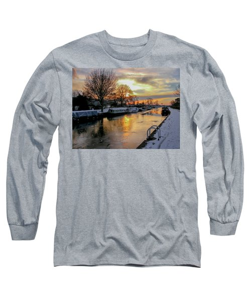 Cranfleet Canal Boats Long Sleeve T-Shirt