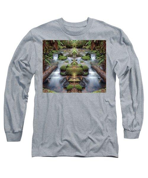 Creek Diamonds #1n Long Sleeve T-Shirt