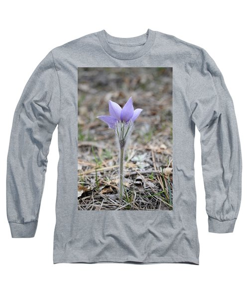 Crocus Detail Long Sleeve T-Shirt