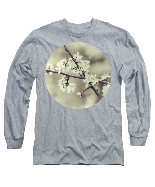 Crossed Blossoms Long Sleeve T-Shirt