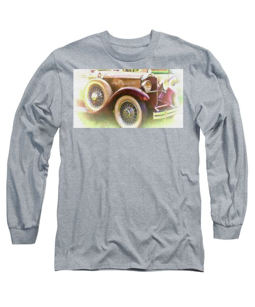 Cruise Into Tomorrow With Yesterday's Wheels Long Sleeve T-Shirt