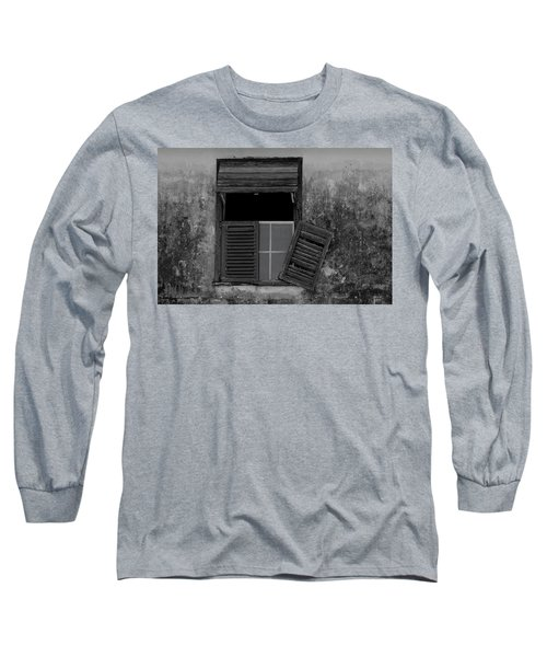 Crumblling Window Long Sleeve T-Shirt