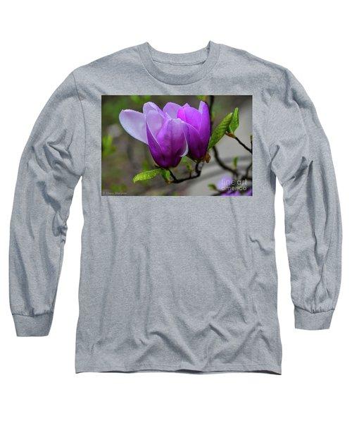 Cuddling In Spring Long Sleeve T-Shirt
