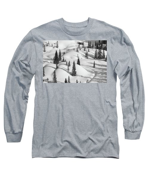 Curves Of The Forest Long Sleeve T-Shirt