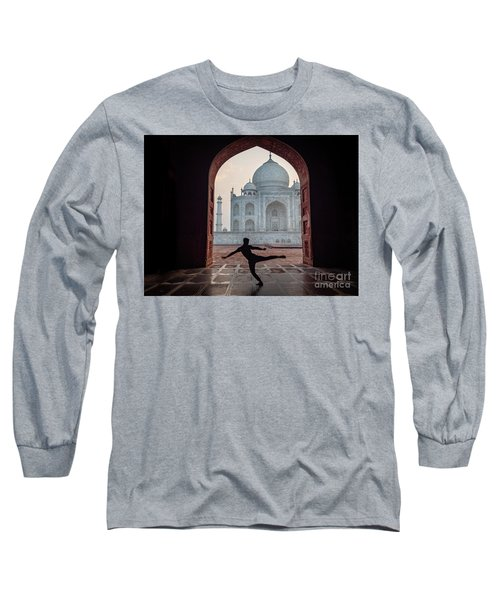 Dancer At The Taj Long Sleeve T-Shirt