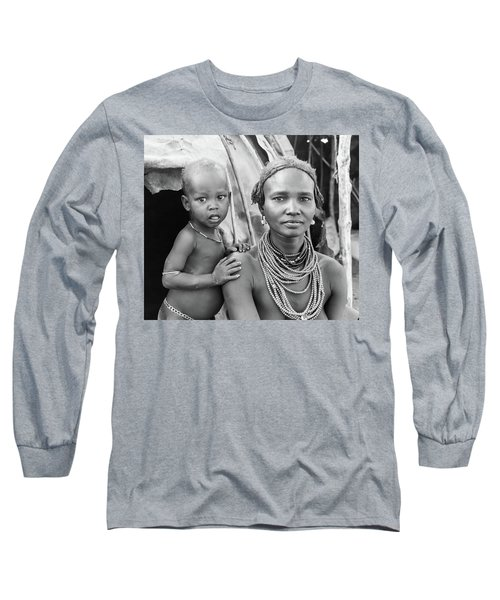 Dassanech Mother And Baby 2 Long Sleeve T-Shirt