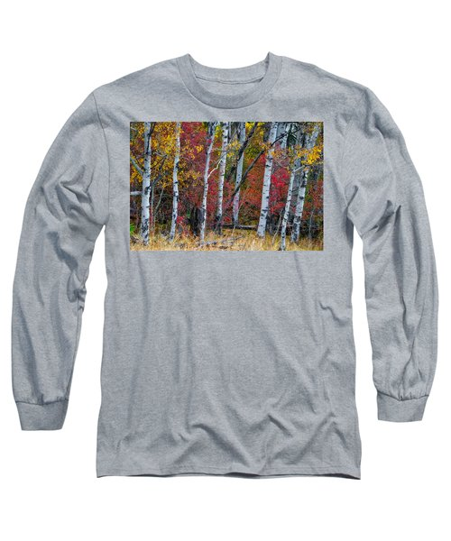 Deep Aspens Long Sleeve T-Shirt