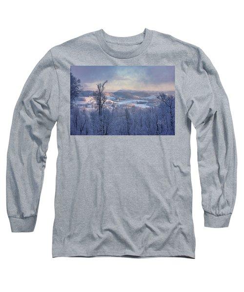 Deer Valley Winter View Long Sleeve T-Shirt