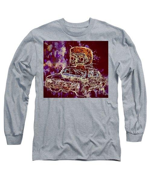 Dean Winchester Car Supernatural Pop  Long Sleeve T-Shirt