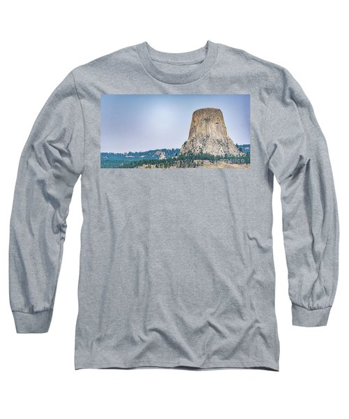 Devils Tower Long Sleeve T-Shirt