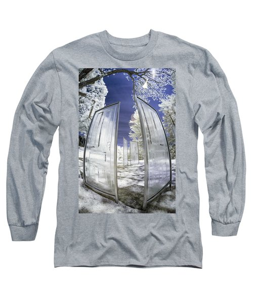 Long Sleeve T-Shirt featuring the photograph Dimensional Doors by Brian Hale