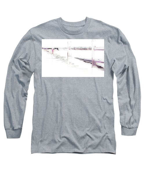 Disappearing Fence Long Sleeve T-Shirt