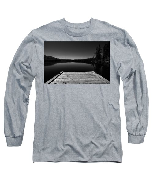 Dock At Dusk Long Sleeve T-Shirt