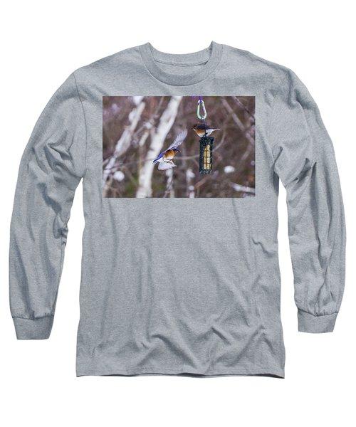 Docking Bluebird Long Sleeve T-Shirt