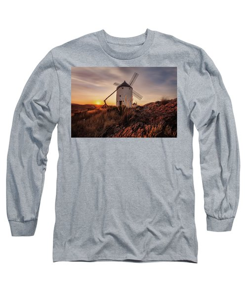Don Quixote Giant Long Sleeve T-Shirt