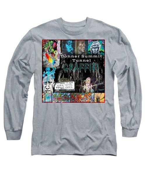 Donner Summit Graffiti Long Sleeve T-Shirt