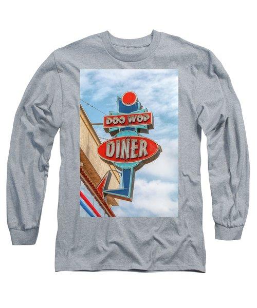 Doo Wop Diner Wildwood Long Sleeve T-Shirt