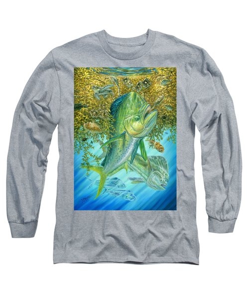 Dorados Hunting In Sargassum Long Sleeve T-Shirt