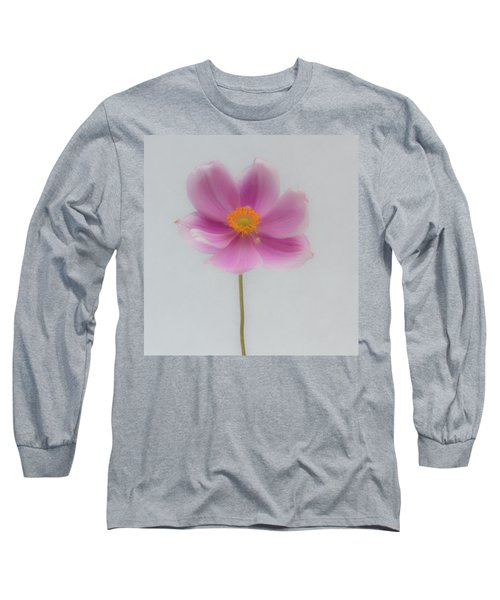 Dreamy Pink Anemone Long Sleeve T-Shirt