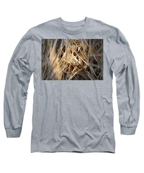 Dried Wild Grass I Long Sleeve T-Shirt