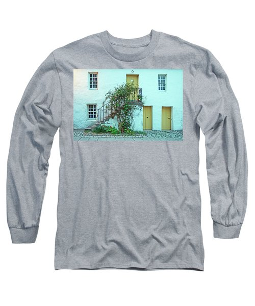 Dunkeld. The Cathedral Square. Long Sleeve T-Shirt