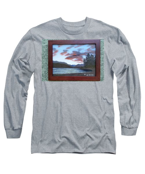 Dutch Harbour, Evening Sky Long Sleeve T-Shirt